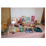 Barbie & miscellaneous doll lot & Barbie doll