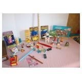 Lot of trinket toys