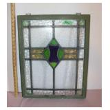"""Stained glass window pane-19x24"""""""