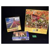 Puzzle Lot  - 500 Piece