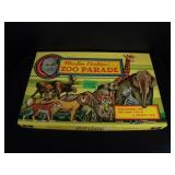 Vintage Marlin Perkins Zoo Parade Game - RARE