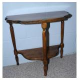 """2 tier side table 24x12x22"""" tall"""