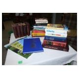 Large lot of assorted books-see pictures