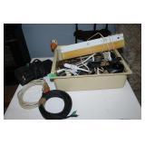 HDMI cable/power surge bar/extension cords etc