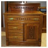 wood cabinet 29.5x16x33.5