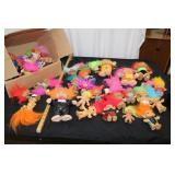 Box of Assorted trolls-see pictures