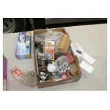 Box lot-see pictures-2 Car seat chargers etc