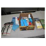 Box lot-see pictures-sport watches/receipt book /