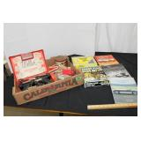 Box lot-see pictures-spark plugs & wires/