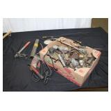 Box lot-see pictures-drill chucks etc