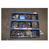 Steel bin-16x17 full of large bolts