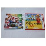 2 Nintendo 3 DS games