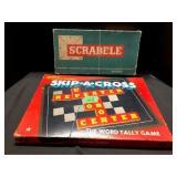 Vintage Scrabble Games - collectible