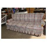 3 Cushion couch-7 ft long x 3 ft deep-1 cushion