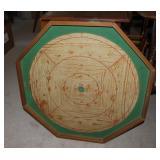 Wood Crockinole/checker board