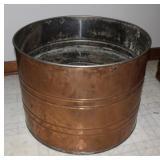 Large Copper planter