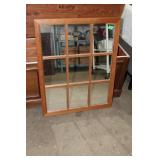 Framed mirror-24.5 x 30.5 inches