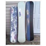 Burton Snowboard bag-black #166 with 3 snowboards-