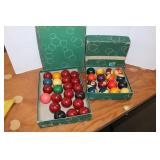 Snooker and pool balls