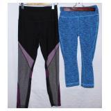 XS Reebok tights and capri pants