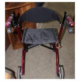 Airgo Excursion X20 walker with seat and wheels