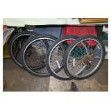 4 Assorted bicycle tires-24 inch