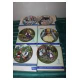 6 Kaiser collector plates