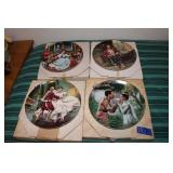4 The King and I series collector plates