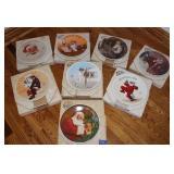 Xmas collector plates
