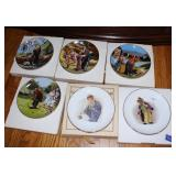 clown collector plates
