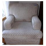 Large upholstered chair - showing signs of wear