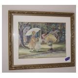 Framed Trisha Romance 1990 24.5x20.5
