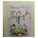 Resin Bunny Clock