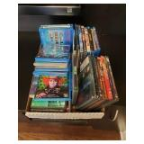 GROUP OF VARIOUS BLUE RAY AND DVD MOVIES, TO