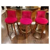 "BAR STOOL, 31"" SEAT HIGHT, BID IS TIMES 3 ON THIS"