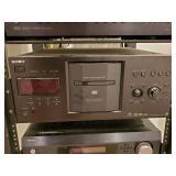 CD/ DVD CHANGER/ PLAYER, SONY, MDL DVP-CX777ES,