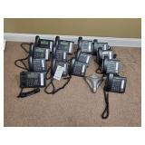 GROUP OF PHONES, (4) PANASONIC KX-DT546, (10)