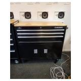 "TOOL CHEST, HUSKY, 3 DRAWER, ON CASTER, 39""L X"