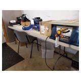 PLASTIC FOLDING TABLE, 8