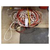 GROUP OF VARIOUS EXTENSION CORDS