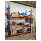 SECTION OF PALLET RACK, 10