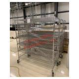Lot of (1) 3 metro carts 6 tiers