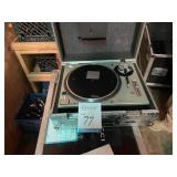 Technics DJ Turntable