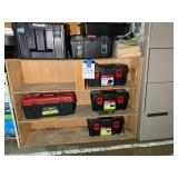 Cabinet with Tool Boxes