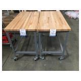 Tables W/Wheels
