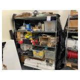 Wire Rack w/ Contents