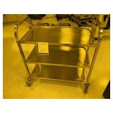 Stainless Steel Lab Pushcart