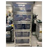 Desiccator Acrylic Cabinet with gas port