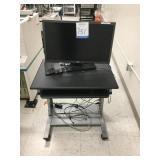 Desk W/ Monitor