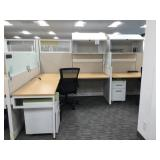 Office Cubicle Set Up